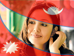 Get your profile Nepali Flagged